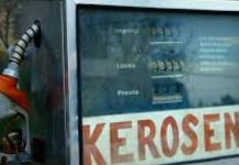 A kerosene pump