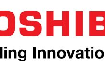 The Toshiba Logo.