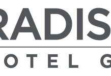 Radisson Hotel Group logo.