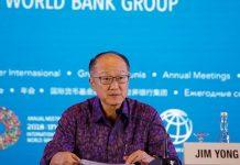World Bank Group President Jim Yong Kim.