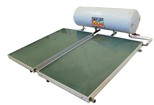 A Davis&Shirtliff solar water heater.