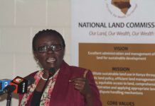 NLC acting Chairperson Abigael Mukolwe