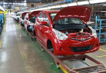 Hyundai assembly plant