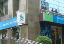 A StanChart branch in Nairobi.