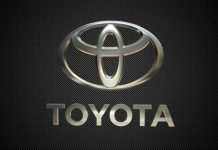 The Toyota logo.