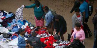 Hawkers in Nairobi's CBD