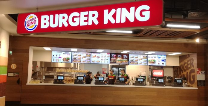 A Burger King outlet