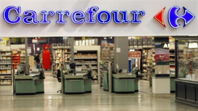 A Carrefour outlet.