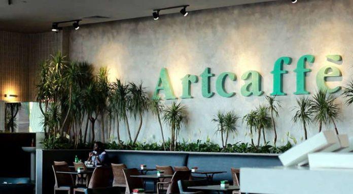 An Artcaffe outlet.