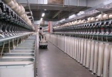 A cotton textile factory