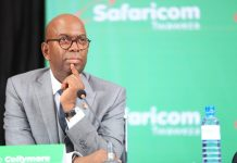 The late Safaricom CEO Bob Collymore.