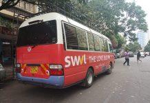 A SWVL shuttle in Nairobi
