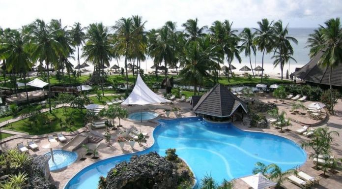 The Diani Reef Beach Resort and Spa.