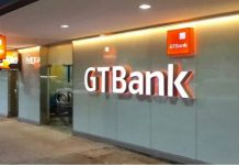 A GT Bank branch.