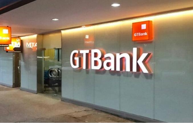 A GT Bank branch.