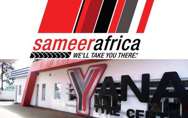 Sameer Africa and Yana tyres logo