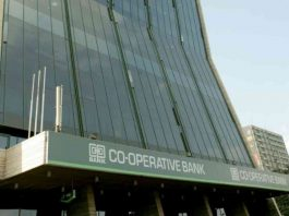 Co-op Bank headquarters in Nairobi. The Bank posted a profit in H1 2019