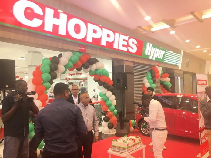 A Choppies outlet