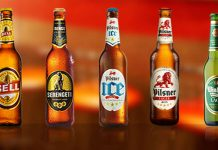 Examples of Beers under the EABL brand.
