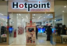 A Hotpoint Appliances outlet.