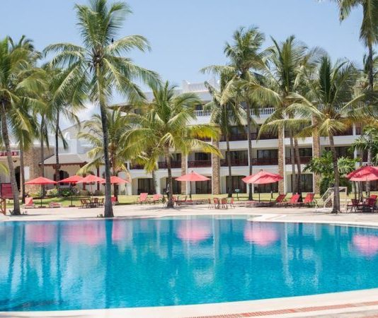 A section of PrideInn Beach Hotel.