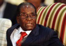 Ex-Zimbabwe President Robert Mugabe