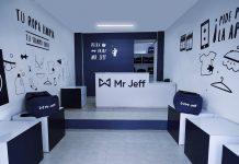 A Mr. Jeff launderette.