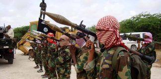 Al Shabaab militants.