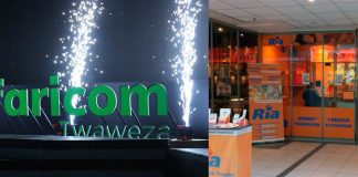 Safaricom- Ria Money Transfer