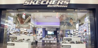 A Skechers outlet.