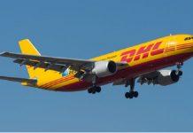 A DHL plane
