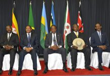 EAC Member state presidents