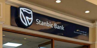 The Stanbic Bank logo