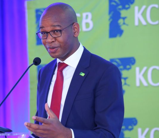 KCB-Group CEO Joshua Oigara