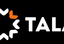 The TALA lending app logo.