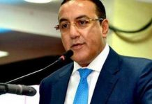 Tourism Cabinet Secretary Najib Balala at a previous press conference.