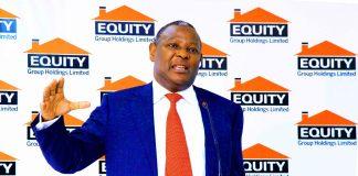 Equity Bank Group CEO Dr.James Mwangi.
