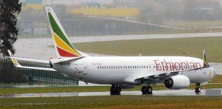 Ethiopian Airline Boeing 737