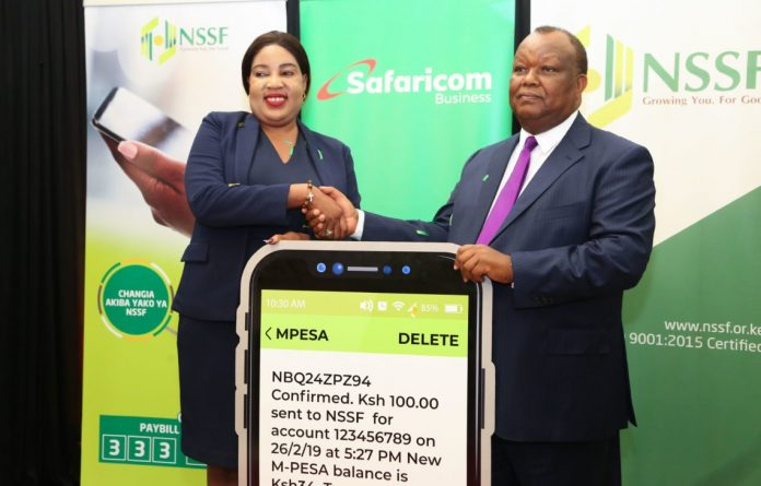 NSSF partner with M-Pesa