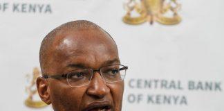 Central BanK Governor Patrick Njoroge