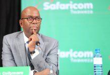 The late Safaricom CEO Bob Collymore.