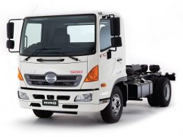 A HINO truck