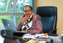 CA Acting Director General in her office