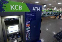 A KCB Bank ATM