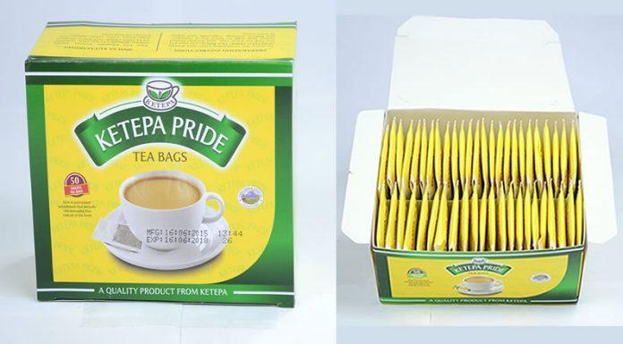 Ketepa tea bags.