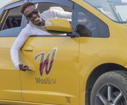 A Wasili Cabs service taxi and operator.