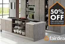 A Fairdeal furniture promotion.