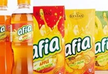 Some Kevian Kenya products.