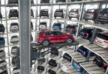 An automated parking system.
