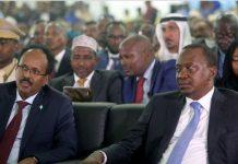 Somalia Kenya Presidents